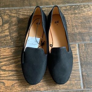 BNWT Black loafers from H&M